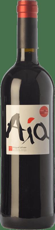 27,95 € Envío gratis | Vino tinto Miquel Oliver Aía Crianza D.O. Pla i Llevant Islas Baleares España Merlot Botella 75 cl