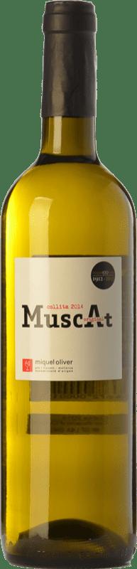 9,95 € 免费送货 | 白酒 Miquel Oliver Original Muscat D.O. Pla i Llevant 巴利阿里群岛 西班牙 Muscat of Alexandria, Muscatel Small Grain 瓶子 75 cl