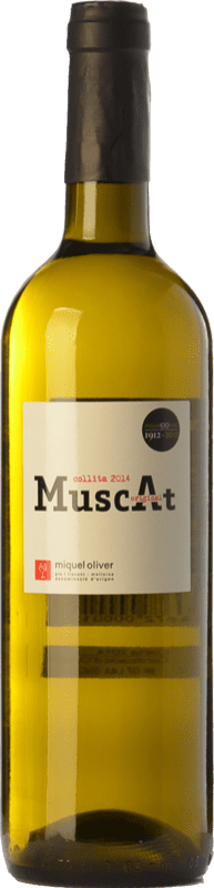 9,95 € Free Shipping | White wine Miquel Oliver Original Muscat D.O. Pla i Llevant Balearic Islands Spain Muscat of Alexandria, Muscatel Small Grain Bottle 75 cl