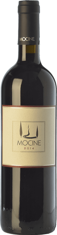 12,95 € Free Shipping | Red wine Mocine I.G.T. Toscana Tuscany Italy Sangiovese, Colorino, Foglia Tonda, Barsaglina Bottle 75 cl