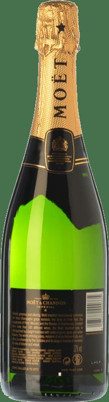 37,95 € | White sparkling Moët & Chandon Impérial Brut Reserva A.O.C. Champagne Champagne France Pinot Black, Chardonnay, Pinot Meunier Bottle 75 cl