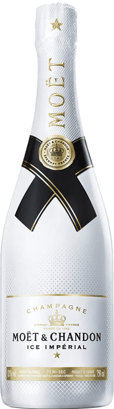 61,95 € | White sparkling Moët & Chandon Ice Impérial A.O.C. Champagne Champagne France Pinot Black, Chardonnay, Pinot Meunier Bottle 75 cl