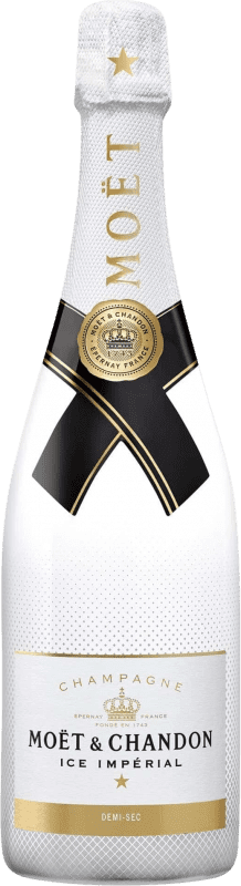 116,95 € | White sparkling Moët & Chandon Ice Impérial A.O.C. Champagne Champagne France Pinot Black, Chardonnay, Pinot Meunier Magnum Bottle 1,5 L
