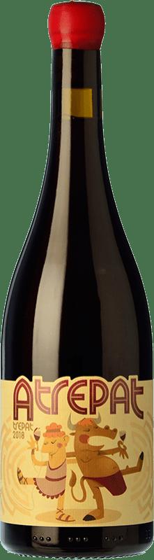 9,95 € Free Shipping | Red wine Molí dels Capellans Atrepat Negre Joven D.O. Conca de Barberà Catalonia Spain Trepat Bottle 75 cl