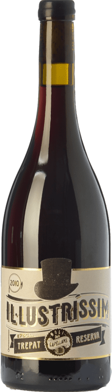 53,95 € | Red wine Molí dels Capellans Il·lustríssim Reserva D.O. Conca de Barberà Catalonia Spain Trepat Bottle 75 cl