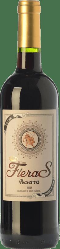 9,95 € Envío gratis | Vino tinto Mondo Lirondo Casa de Fieras Reserva D.O.Ca. Rioja La Rioja España Tempranillo, Garnacha, Graciano Botella 75 cl