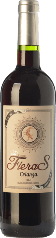 8,95 € Envío gratis | Vino tinto Mondo Lirondo Casa de Fieras Crianza D.O.Ca. Rioja La Rioja España Tempranillo, Garnacha Botella 75 cl