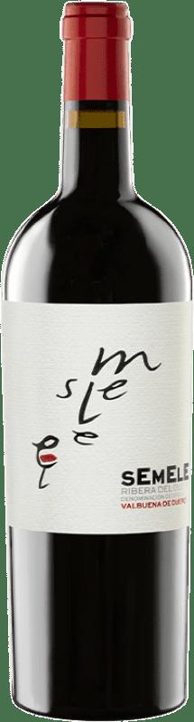 11,95 € Envío gratis | Vino tinto Montebaco Semele Crianza D.O. Ribera del Duero Castilla y León España Tempranillo, Merlot Botella 75 cl