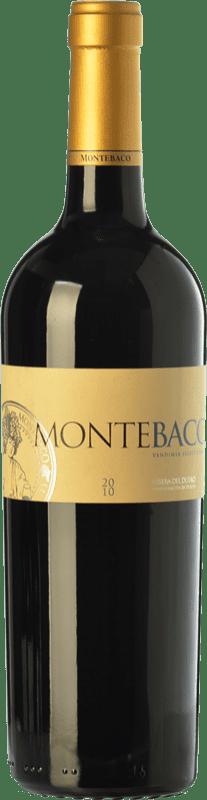 26,95 € Envío gratis | Vino tinto Montebaco Vendimia Seleccionada Crianza D.O. Ribera del Duero Castilla y León España Tempranillo, Merlot Botella 75 cl