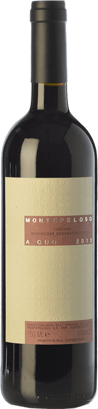 24,95 € Free Shipping | Red wine Montepeloso A Quo I.G.T. Toscana Tuscany Italy Grenache, Cabernet Sauvignon, Sangiovese, Moristel, Montepulciano Bottle 75 cl