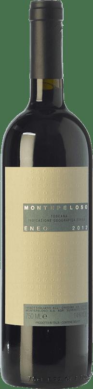 38,95 € Free Shipping | Red wine Montepeloso Eneo I.G.T. Toscana Tuscany Italy Cabernet Sauvignon, Sangiovese, Montepulciano Bottle 75 cl