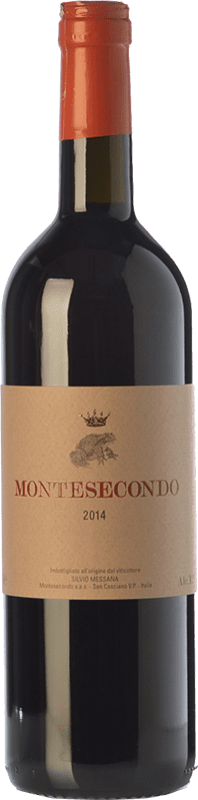 21,95 € Free Shipping | Red wine Montesecondo I.G.T. Toscana Tuscany Italy Sangiovese, Canaiolo Bottle 75 cl