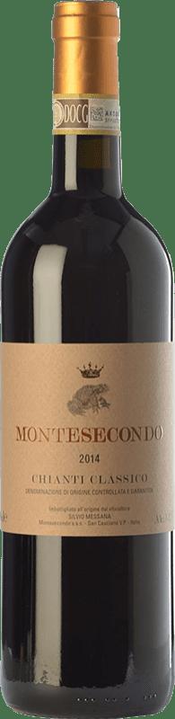 26,95 € | Red wine Montesecondo D.O.C.G. Chianti Classico Tuscany Italy Sangiovese, Colorino, Canaiolo Bottle 75 cl