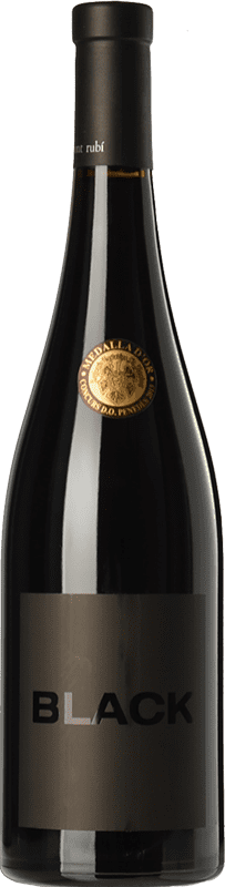 12,95 € Free Shipping | Red wine Mont-Rubí Black Joven D.O. Penedès Catalonia Spain Grenache Bottle 75 cl