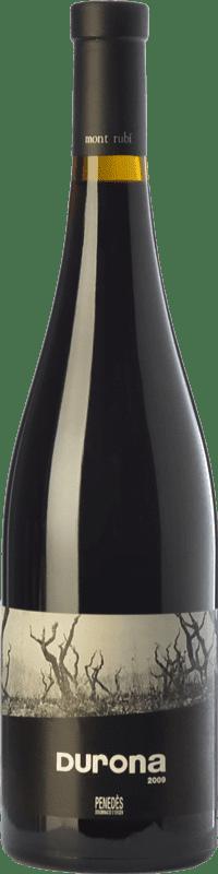 15,95 € | Red wine Mont-Rubí Finca Durona Crianza D.O. Penedès Catalonia Spain Merlot, Syrah, Grenache, Carignan, Sumoll Bottle 75 cl