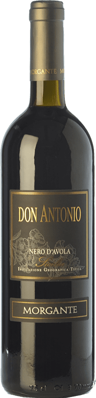 43,95 € 免费送货 | 红酒 Morgante Don Antonio I.G.T. Terre Siciliane 西西里岛 意大利 Nero d'Avola 瓶子 75 cl