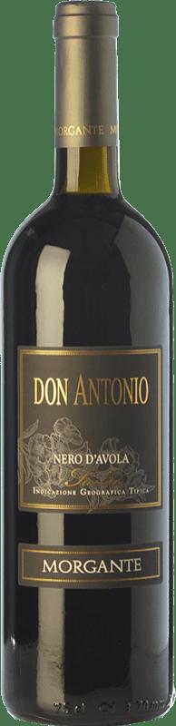 43,95 € Envío gratis | Vino tinto Morgante Don Antonio I.G.T. Terre Siciliane Sicilia Italia Nero d'Avola Botella 75 cl