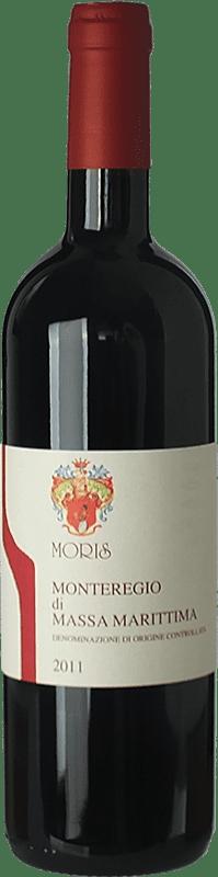 11,95 € Free Shipping | Red wine Morisfarms D.O.C. Monteregio di Massa Marittima Tuscany Italy Cabernet Sauvignon, Sangiovese Bottle 75 cl