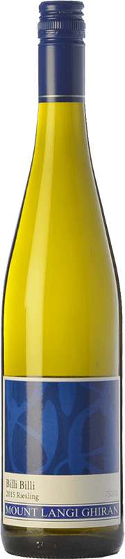 12,95 € 免费送货   白酒 Mount Langi Ghiran Billi Billi I.G. Grampians 格兰屏 澳大利亚 Riesling 瓶子 75 cl