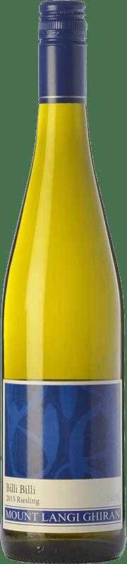12,95 € Free Shipping | White wine Mount Langi Ghiran Billi Billi I.G. Grampians Grampians Australia Riesling Bottle 75 cl