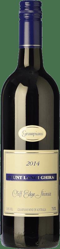 27,95 € 免费送货   红酒 Mount Langi Ghiran Cliff Edge Shiraz Crianza I.G. Grampians 格兰屏 澳大利亚 Syrah 瓶子 75 cl