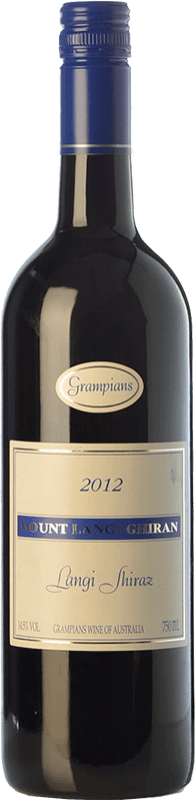 91,95 € 免费送货   红酒 Mount Langi Ghiran Shiraz Crianza I.G. Grampians 格兰屏 澳大利亚 Syrah 瓶子 75 cl