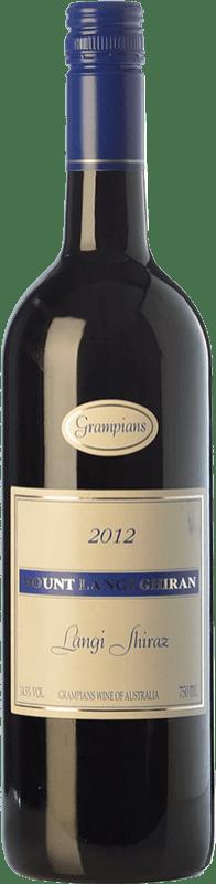 91,95 € Free Shipping | Red wine Mount Langi Ghiran Shiraz Crianza I.G. Grampians Grampians Australia Syrah Bottle 75 cl