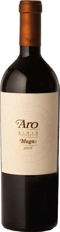 205,95 € Envoi gratuit | Vin rouge Muga Aro Crianza 2010 D.O.Ca. Rioja La Rioja Espagne Tempranillo, Graciano Bouteille 75 cl