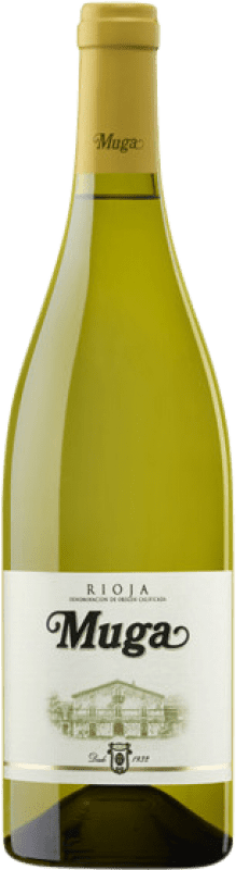 12,95 € Envoi gratuit | Vin blanc Muga Fermentado en Barrica Crianza D.O.Ca. Rioja La Rioja Espagne Viura, Malvasía Bouteille 75 cl