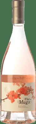 19,95 € 免费送货 | 玫瑰酒 Muga Flor D.O.Ca. Rioja 拉里奥哈 西班牙 Grenache 瓶子 75 cl