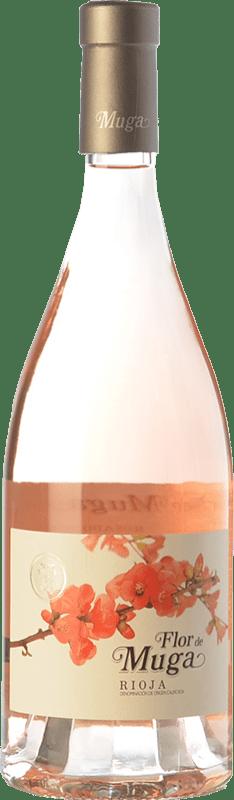19,95 € 免费送货   玫瑰酒 Muga Flor D.O.Ca. Rioja 拉里奥哈 西班牙 Grenache 瓶子 75 cl