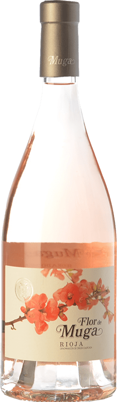 19,95 € Free Shipping | Rosé wine Muga Flor D.O.Ca. Rioja The Rioja Spain Grenache Bottle 75 cl