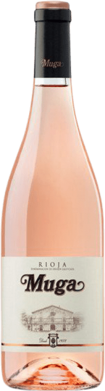 9,95 € Free Shipping | Rosé wine Muga D.O.Ca. Rioja The Rioja Spain Tempranillo, Grenache, Viura Bottle 75 cl