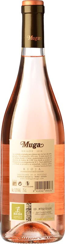 9,95 € Free Shipping   Rosé wine Muga D.O.Ca. Rioja The Rioja Spain Tempranillo, Grenache, Viura Bottle 75 cl
