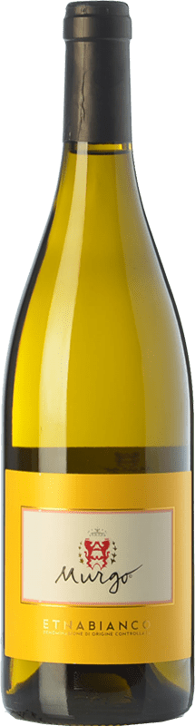 17,95 € Free Shipping | White wine Murgo Bianco D.O.C. Etna Sicily Italy Carricante, Catarratto Bottle 75 cl