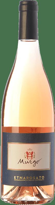 16,95 € | Rosé wine Murgo Rosato D.O.C. Etna Sicily Italy Nerello Mascalese, Nerello Cappuccio Bottle 75 cl