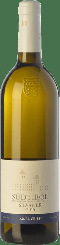 16,95 € Free Shipping | White wine Muri-Gries D.O.C. Alto Adige Trentino-Alto Adige Italy Sylvaner Bottle 75 cl