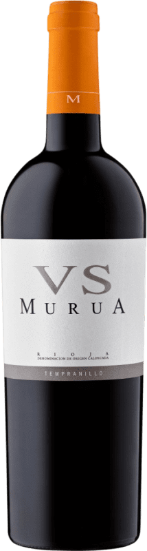 17,95 € Free Shipping | Red wine Murua Vendimia Seleccionada Crianza D.O.Ca. Rioja The Rioja Spain Tempranillo, Graciano, Mazuelo Bottle 75 cl