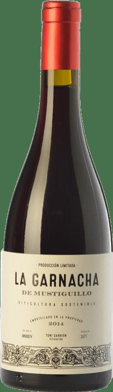22,95 € Free Shipping | Red wine Mustiguillo La Garnacha Joven D.O.P. Vino de Pago El Terrerazo Valencian Community Spain Grenache Bottle 75 cl
