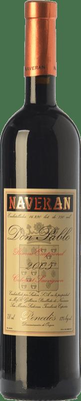 9,95 € Free Shipping | Red wine Naveran Don Pablo Excepcional Reserva D.O. Penedès Catalonia Spain Cabernet Sauvignon Bottle 75 cl