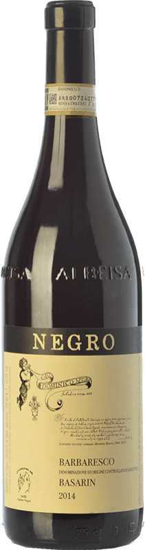 35,95 € Free Shipping | Red wine Negro Angelo Basarin D.O.C.G. Barbaresco Piemonte Italy Nebbiolo Bottle 75 cl