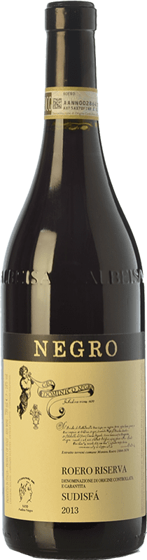 31,95 € Free Shipping | Red wine Negro Angelo Riserva Sudisfà Reserva D.O.C.G. Roero Piemonte Italy Nebbiolo Bottle 75 cl