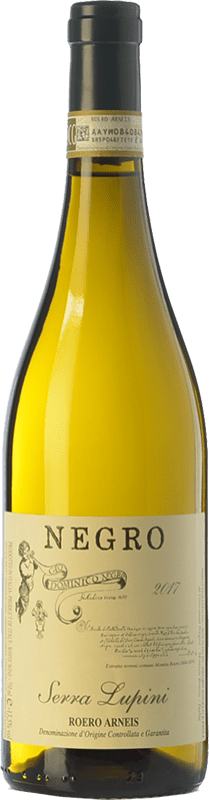 11,95 € Free Shipping | White wine Negro Angelo Serra Lupini D.O.C.G. Roero Piemonte Italy Arneis Bottle 75 cl