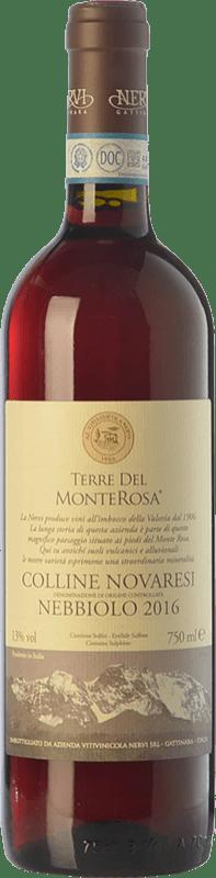 11,95 € | Red wine Nervi Terre del Monterosa D.O.C. Coste della Sesia Piemonte Italy Nebbiolo Bottle 75 cl