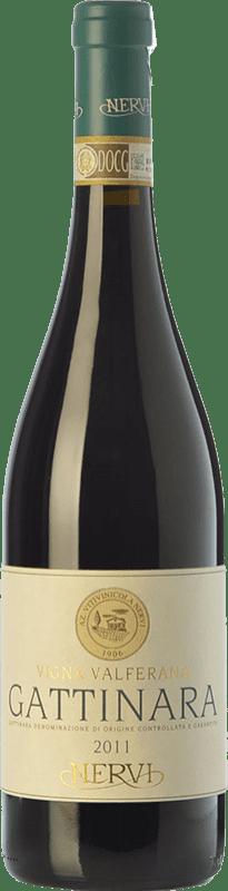 84,95 € | Red wine Nervi Valferana D.O.C.G. Gattinara Piemonte Italy Nebbiolo Bottle 75 cl