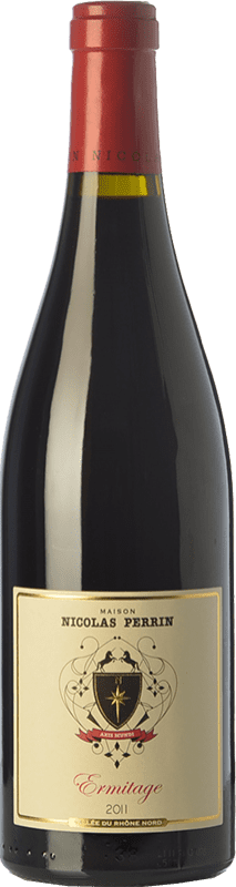 56,95 € Free Shipping | Red wine Nicolas Perrin Rouge Crianza A.O.C. Hermitage Rhône France Syrah Bottle 75 cl