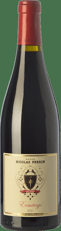 56,95 € | Red wine Nicolas Perrin Rouge Crianza A.O.C. Hermitage Rhône France Syrah Bottle 75 cl