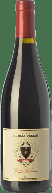 39,95 € | Red wine Nicolas Perrin Crianza A.O.C. Côte-Rôtie Rhône France Syrah, Viognier Bottle 75 cl