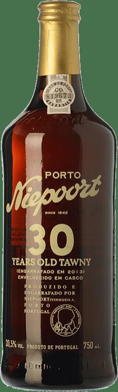 163,95 € | Fortified wine Niepoort 30 Years Old Tawny I.G. Porto Porto Portugal Touriga Franca, Touriga Nacional, Tinta Roriz, Tinta Amarela, Tinta Cão, Tinta Francisca Bottle 75 cl