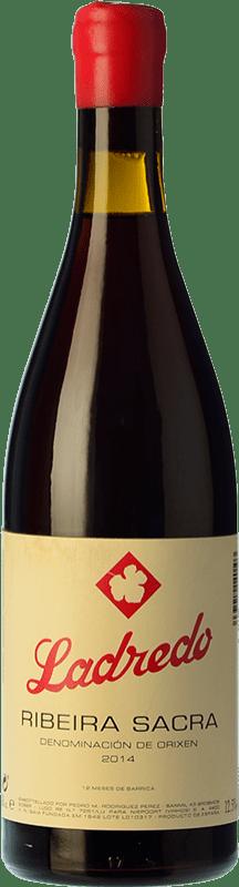 46,95 € Envío gratis | Vino tinto Niepoort Ladredo Joven D.O. Ribeira Sacra Galicia España Mencía, Garnacha Tintorera Botella 75 cl